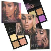 Pink+Golden+Summer Solstice 4 Shades 3D Highlighter Makeup Set New
