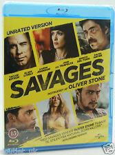 SAVAGES UNRATED Versión Blu-ray Región B Nuevo Sellado