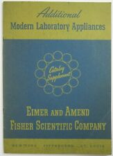 Vintage Science Laboratory Equipment Catalog Instruments Fisher Scientific 1947