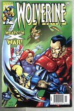 Wolverine #143-1999 vf Newsstand variant Alpha Flight