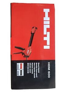 Hilti HDM500 HDM Adhesive Epoxy Dispenser. NEW.