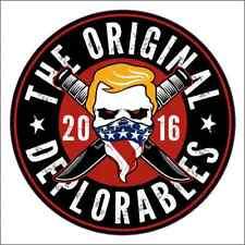 Donald Trump Deplorables Vinyl Decal / Sticker