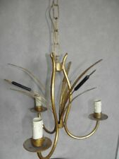 old ceiling light lamp chandelier Candle Hanging  Charles Bagues Jansen lustre