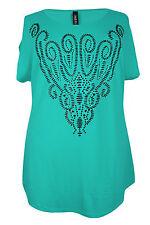 Locker sitzende Damenblusen, - tops & -shirts aus Viskose mit Paisley-Muster