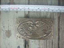 Vintage 1974 The Right To Keep and Bear Arms Belt Buckle 1776-1976 P. Romano