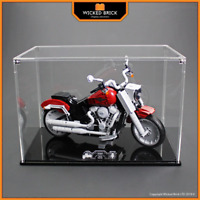 Display Case for LEGO Stranger Things: Harley Davidson Fatboy (10269)