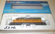 Broadway Ltd Blue Line HO Scale POWERED UP 3055 EMD SD40-2 DCC w/ Sound #5014