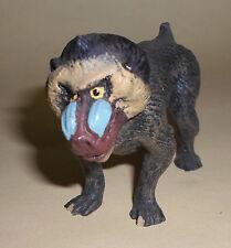 vintage Lineol Elastolin mandrill ape animal figures