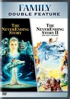 THE NEVERENDING STORY + NEVERENDING STORY 2 New DVD Fullscreen Double Feature