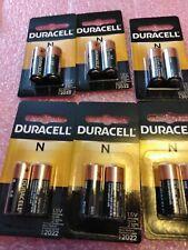 Duracell  N LR1,E90,MN9100 -QTY. 6 CARDS x 2