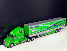 Kenworth T680 6x4 with box trailer 2 axle-WSI truck models-04-2024