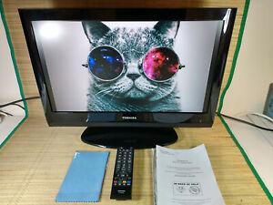 """Toshiba 22AV615DB 22"""" LCD TV, HD Ready 720p, Digital Freeview, Remote Control"""