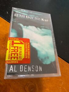 AL DENSON do You Know This Man ? Cassette Tape New & Sealed