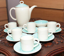 SUSIE COOPER CROWN WORKS LOVELY ART DECO POTTERY COFFEE SET 1930'S SKU16135