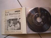"box 14 discs 1.6oz complete "" the traviata"" corrado german publisher"