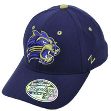 52383e73c3d NCAA Zephyr Western Carolina Catamounts Flex Fit Medium Large Hat Cap Purple
