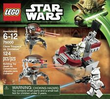 BRAND NEW SEALED LEGO STAR WARS 75000 Clone Troopers vs Droidekas Battle Pack