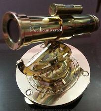 Maritime Astrolabe Brass Survey Nautical Alidate Compass, Telescope Decor Gift