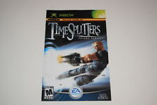 TimeSplitters Future Perfect Microsoft Xbox Video Game Manual Only