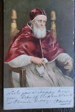 POPE JULIUS II  PAPA GIULIO II 1905 POSTCARD