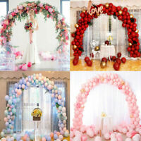 Balloon Arch Set Column Stand Base Frame Kit Birthday Wedding Party Decor UK LY