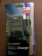 Vivitar C76 Charger  Digital Camera Battery Charger fits Canon LP-E8 NIP NOS 12V