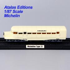ATLAS Train Model 1/87 HO Scale LA MICHELINE TYPE 51 Dite coloniale 1933