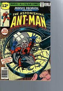 MARVEL PREMIERE  47  KEY ISSUE 1ST SCOTT LANG   ANTMAN -    MARVEL COMICS