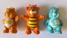 VINTAGE CARE BEARS BUMBLELION THE WUZZLES ACTION FIGURE OLD TOY LOT CAREBEARS