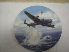 "Royal Worcester Dambusters ""Hold at 60ft"" Plate"