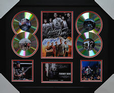 PARKWAY DRIVE MEMORABILIA FRAMED SIGNED LIMITED EDITION 4CD