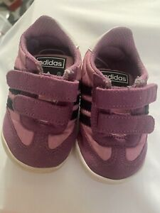 Adidas Preowned Girls Size 3k Tennis Shoes 3K Toddler Infant Baby