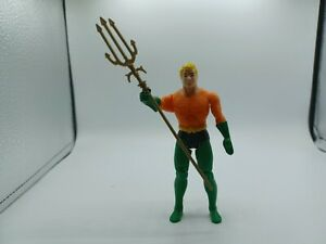 Vintage 1984 Kenner DC Super Powers Aquaman Action Figure w-Original Trident
