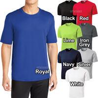 Big and Tall Mens Moisture Wicking T-Shirt XL-4XL LT XLT 2XLT 3XLT 4XLT Dri Fit