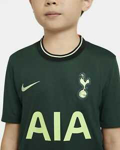 Nike Youth Tottenham Hotspurs Away Jersey 20/21 Green Size Large Authentic $75
