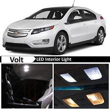 14x White Interior LED Lights Package Kit for 2011 - 2015 Chevy Volt