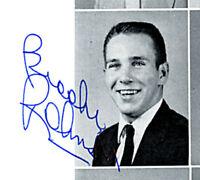 BROOKS ROBINSON 8x-Signed Senior High School Yearbook Barry Halper Collection