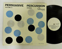 PERSUASIVE PERCUSSION COMMAND STEREO LP RECORD ALBUM