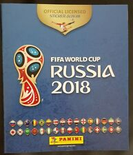 Panini Album empty / leer / new FIFA World Cup 2018 Russia international version
