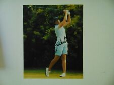 """LPGA"" Juli Inkster Hand Signed 8X10 Color Photo Todd Mueller COA"