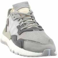 adidas Nite Jogger Sneakers Casual    - Grey - Womens