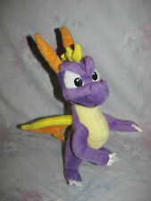 """2001 Plush Spyro the Dragon Figure by Play by Play 11""""-12"""" tall"""