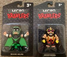 Shane Helms & Adam Bomb Micro Brawlers Figure Hurricane WWE WWF WCW Bryan Clark