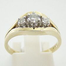 Ring Gold 585er Brillanten Diamant Brillantringe 14 kt. 0,20 ct. Goldschmuck