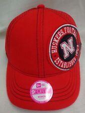 Nebraska Cornhuskers Womens New Era Red Umpire Hat