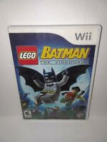 Lego Batman: The Videogame (Nintendo Wii, 2008) Complete Tested & Working