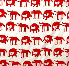 Ikea Twin Size Barnslig Ulven Duvet Cover Reversible Animals Youth 60x84
