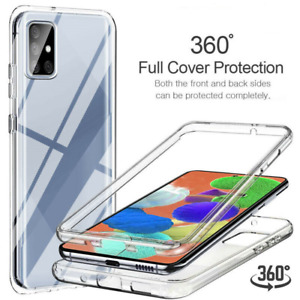 FRONT & BACK 360 CASE for Samsung Galaxy A21s A41 A51 A71 Shockproof Cover
