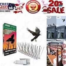 Stainless Steel Bird Spikes 10 Feet 3 Metres Bird Deterrent Kit Covers Bird-X