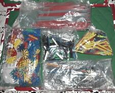 Lot 2 Pounds K'Nex Knex Parts End Clips Rods Connectors Assorted *In Packages*
